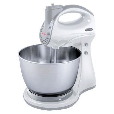 Sunbeam Hand & Stand 5-Speed Mixer - White FBSBH0302