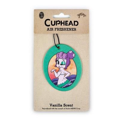 Just Funky Cuphead Cala Maria Mermaid Boss Hanging Air Freshener, Vanilla Scent