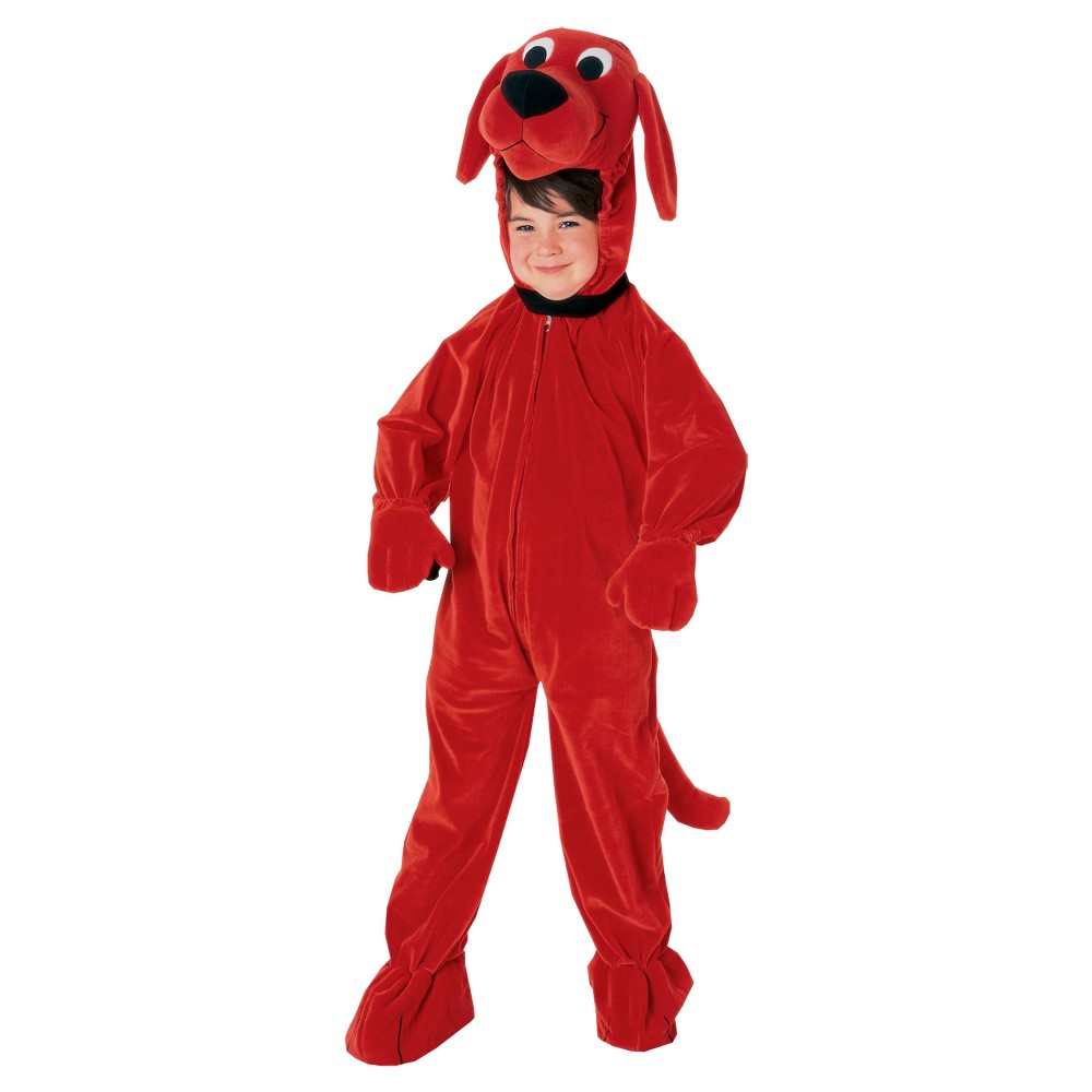Toddler Clifford Costume, Toddler Unisex, Size: 2T-4T, Multi-Colored