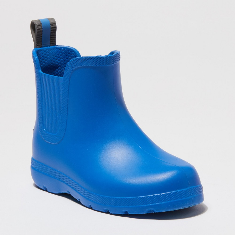 Toddler's Totes Cirrus Ankle Rain Boots - Blue 7-8, Toddler Unisex
