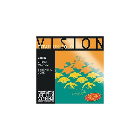 Thomastik Vision Titanium Solo Violin Strings - image 1 of 2