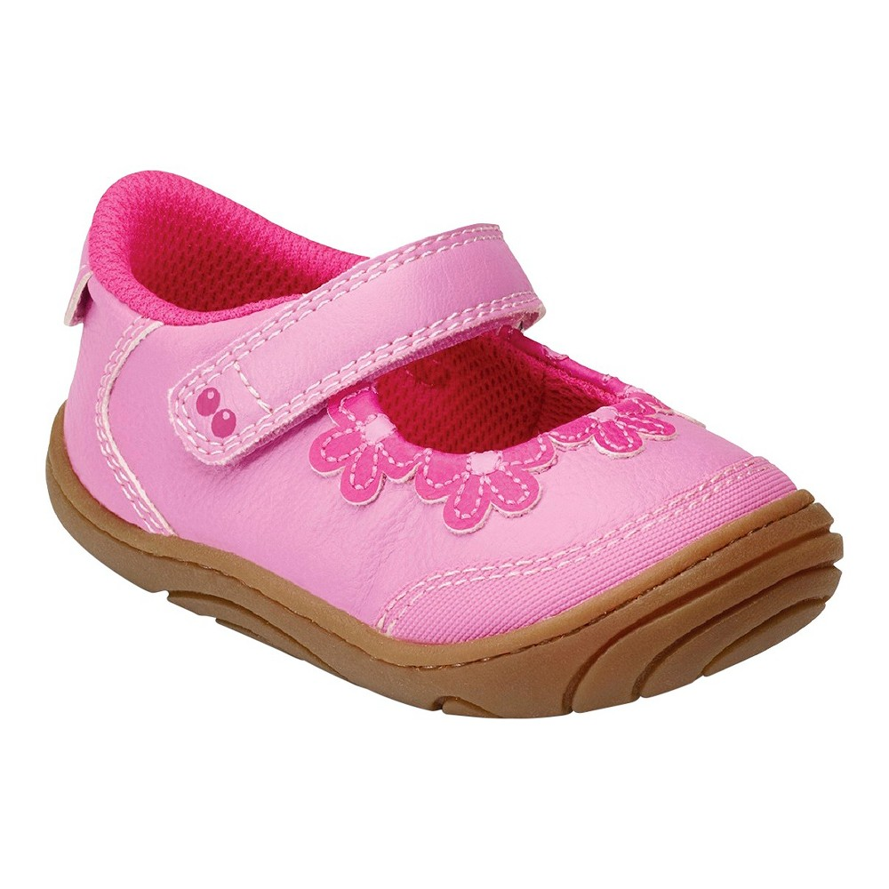 Baby Girls' Surprize by Stride Rite Angie Floral Mary Jane Shoes - Pink 5