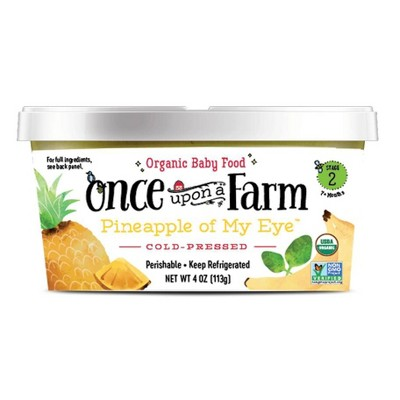 Baby Food: Once Upon a Farm Cold-Pressed Cups