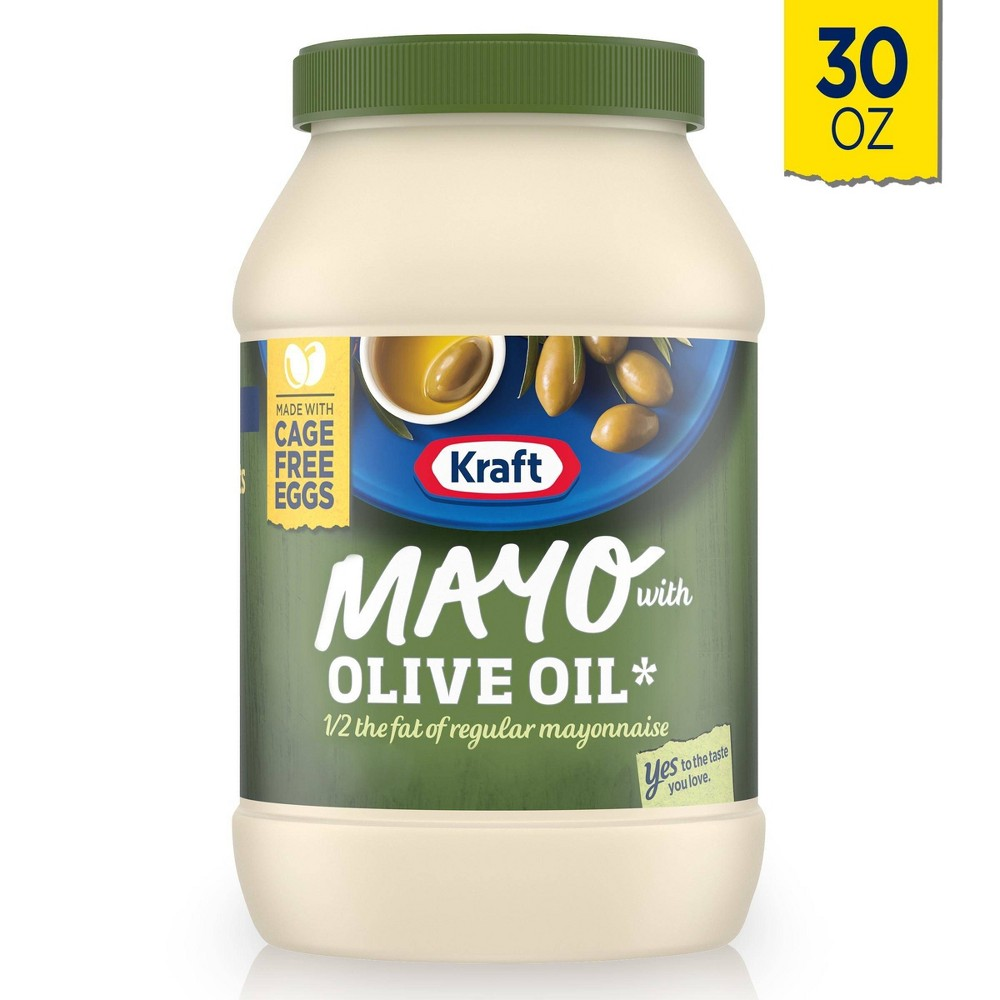 Kraft Reduced Fat Mayonnaise With Olive Oil 30oz