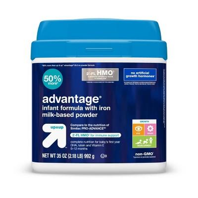 Advantage HMO Infant Formula with Iron Powder - 35oz - Up&Up™