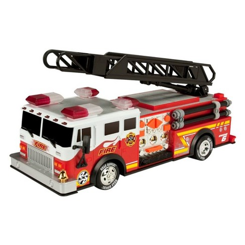 Road Rippers Rush Hook & Ladder Fire Truck -#34555 - image 1 of 3
