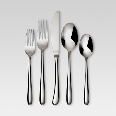 Kayden 20pc Stainless Steel Silverware Set - Threshold™