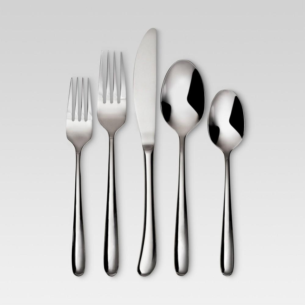 Kayden 20pc Stainless Steel Silverware Set - Threshold