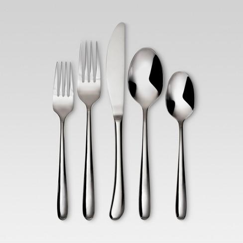 Kayden 20pc Stainless Steel Silverware Set Threshold