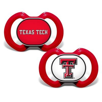 NCAA Texas Tech Red Raiders Baby Pacifier 2pk