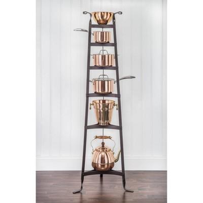 Old Dutch International Oiled Bronze Six Shelf Cookware Stand