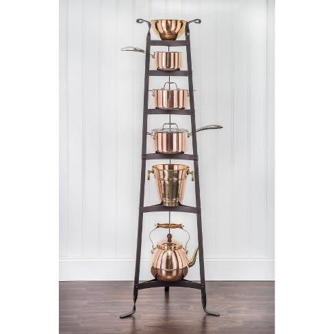 Old Dutch International Oiled Bronze Six Shelf Cookware Stand - image 1 of 3
