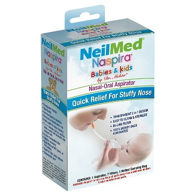 NeilMed Naspira Nasal Aspirator Babies & Kids
