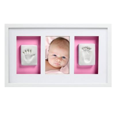 Pearhead Babyprints Hand & Foot Wall Frame - White