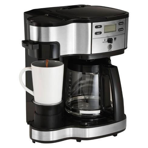 Hamilton Beach Black 2 Way Brewer Coffee Maker 49980z Target