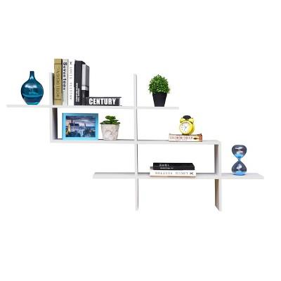3 Tier Floating Ladder Accent Shelf - Danya B