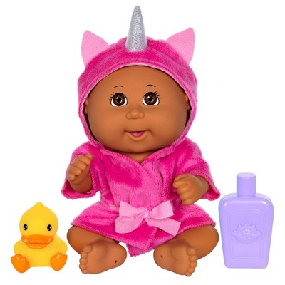 "Cabbage Patch Kids 9"" Basic Tiny Newborn Bubble N' Bath Unicorn Robe"