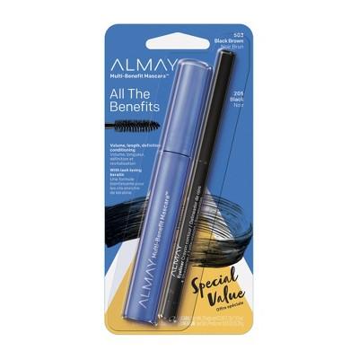 Almay Multi-Benefit Mascara Eyeliner Pack - 503 Black