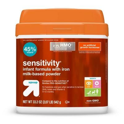 Sensitivity Infant Formula with Iron Milk-Based Powder - up & up™
