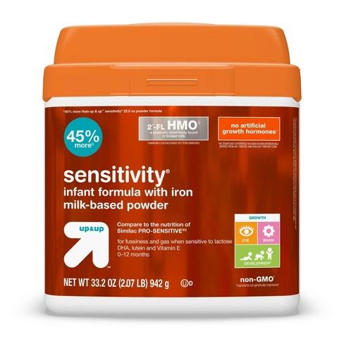Sensitivity Infant Formula with Iron Milk-Based Powder - up & up™ - image 1 of 4