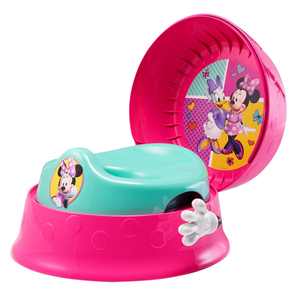 Image of The First Years Disney Baby Minnie Mouse 3-in-1 Potty System