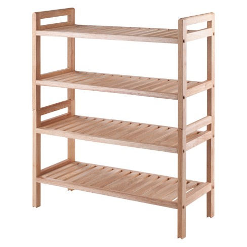 Mercury 2pc Stackable Shoe Rack Set - Natural - Winsome - image 1 of 8