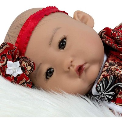 Paradise Galleries Lifelike Reborn Baby Doll Mei, 20 inch Girl in GentleTouch Vinyl & Weighted Body, 4-Piece Set