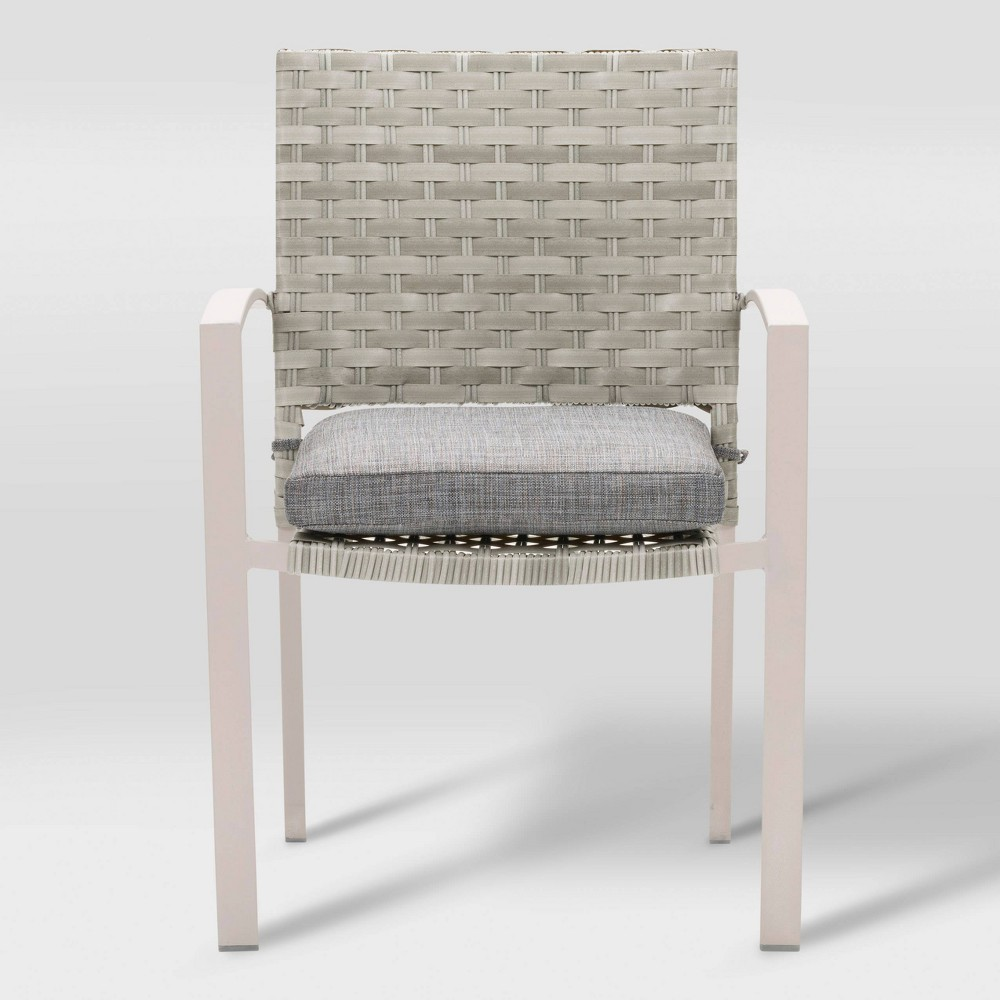 Parkview 4pk Patio Dining Chair - Blended Gray - CorLiving
