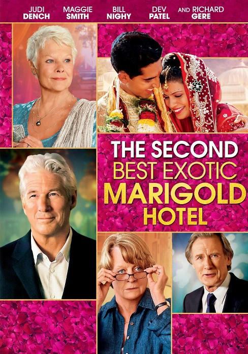 The Second Best Exotic Marigold Hotel (dvd_video) - image 1 of 1