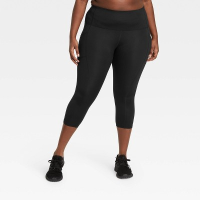 "Women's Sculpted High-Waisted Capri Leggings 21"" - All in Motion™"