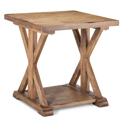 Harvester End Table - Wood - Beekman 1802 FarmHouse™