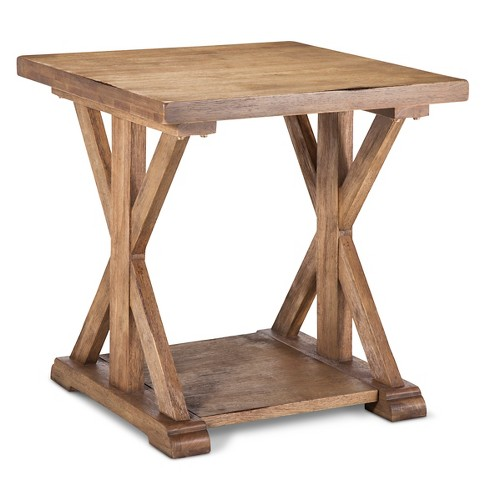 Harvester End Table - Wood - Beekman 1802 FarmHouse™ - image 1 of 4