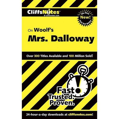 Woolf's Mrs. Dalloway - (Cliffsnotes Literature Guides) by  Gary K Carey (Paperback) - image 1 of 1