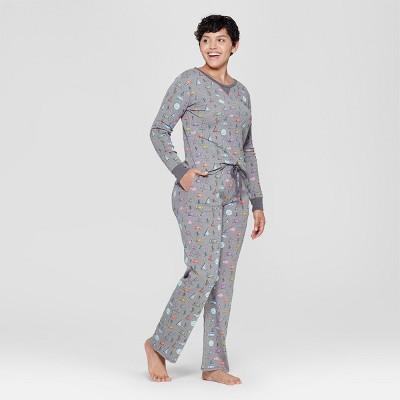 33f451c88bbb Women s Camper Van Pajama Set - Gray