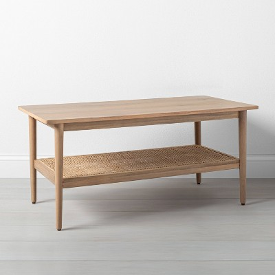 Wood & Cane Coffee Table - Hearth & Hand™ with Magnolia