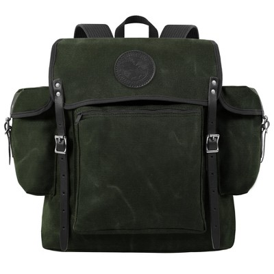 Duluth Pack Rambler Backpack Waxed Olive Drab