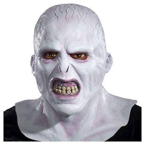 Halloween Harry Potter Voldemort Deluxe Mask Gray - One Size Fits Most - image 1 of 1