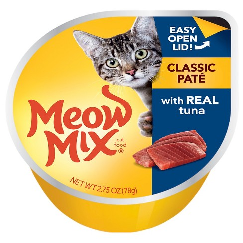 Meow Mix Pate with Real Tuna Wet Cat Food - 2.75oz - image 1 of 1