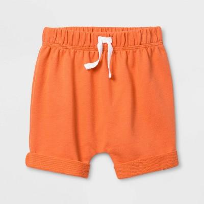 Baby Boys' Harem Coral Shorts - Cat & Jack™ Sunset 6-9M