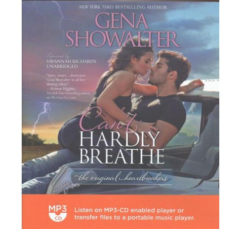 Can't Hardly Breathe (MP3-CD) (Gena Showalter) - image 1 of 1