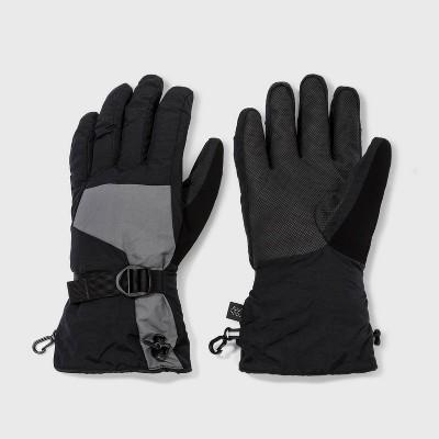 Men's Ski Gloves - All in Motion™ Gray/Black