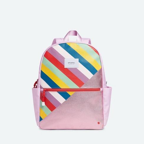 STATE Bags 15'' Kids' Metallic Backpack - Stripe - image 1 of 4