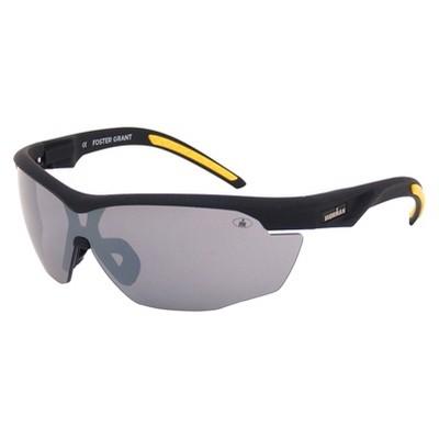 Men's Ironman® Wraparound Oval Sunglasses - Black