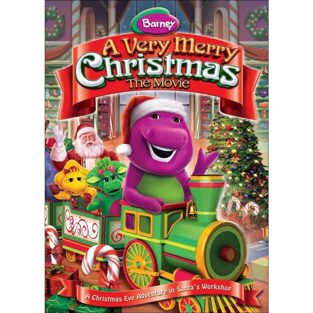 Barney: A Very Merry Christmas - The Movie (dvd_video)