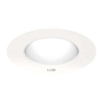"4"" LED Super Slim Circadian Wellness Downlight White - Brilli"