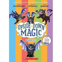 Upside-Down Magic Box Set (Books 1-5) - by  Emily Jenkins & Lauren Myracle & Sarah Mlynowski (Mixed media product)