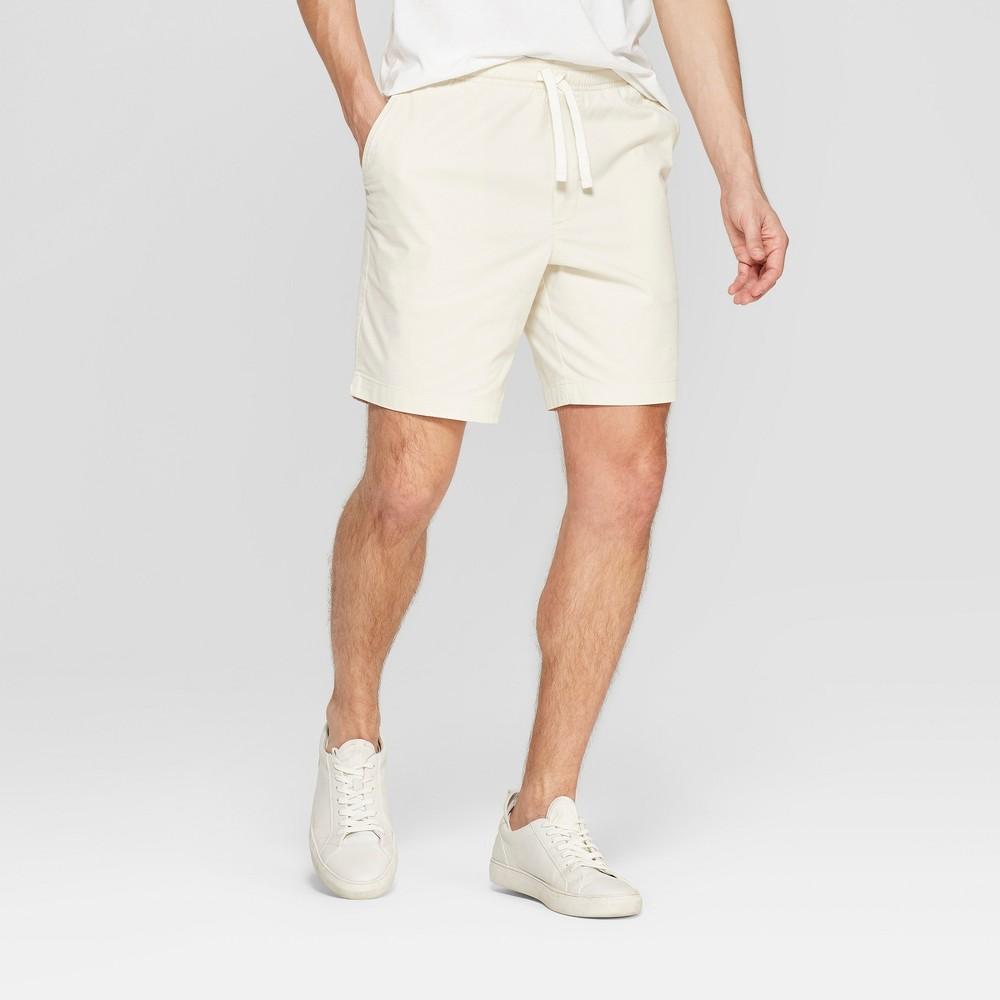 Men's 8 Fashion Shorts - Goodfellow & Co Cream (Ivory) M