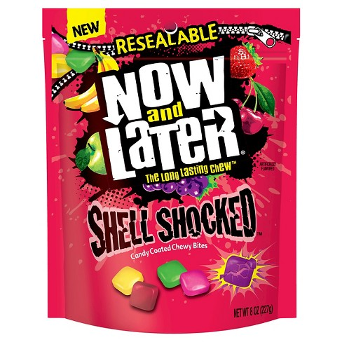 Now & Later Shell Shocked Candy Coated Chewy Bites - 8oz - image 1 of 1