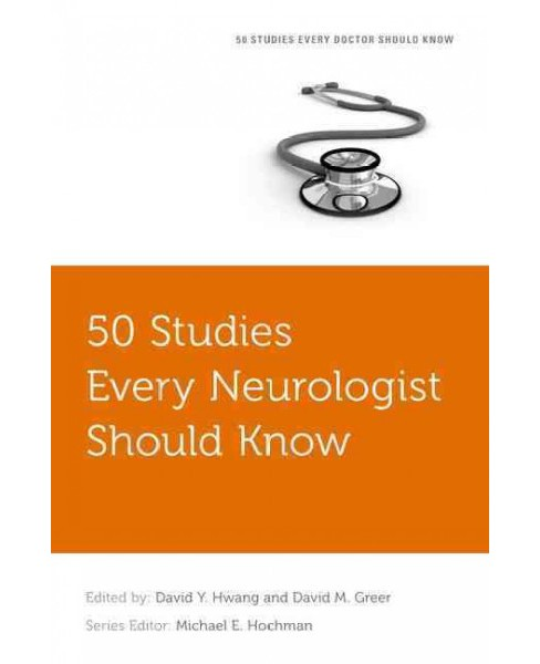 50 Studies Every Neurologist Should Know (Paperback) - image 1 of 1