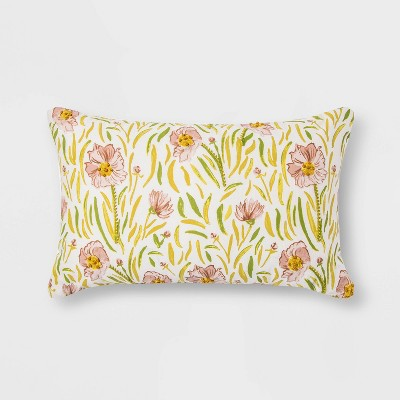 Floral Pillow - Threshold™